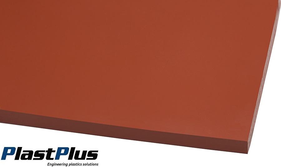 płyty silikonowe czerwone techniczne