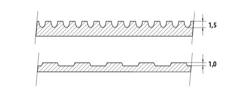 wykładziny gumowe ryflowane, wykładzina gumowa ryfel, wykładzin gumowa ogólnego zastosowania z ryflem