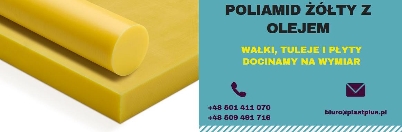 poliamid żółty, pa6 żółty, boramid żółty, tarnamid żółty, wałki, płyty, pręty, tuleje, rury