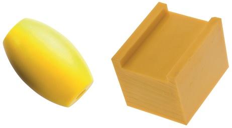 poliamid żółty z olejem wałki i płyty