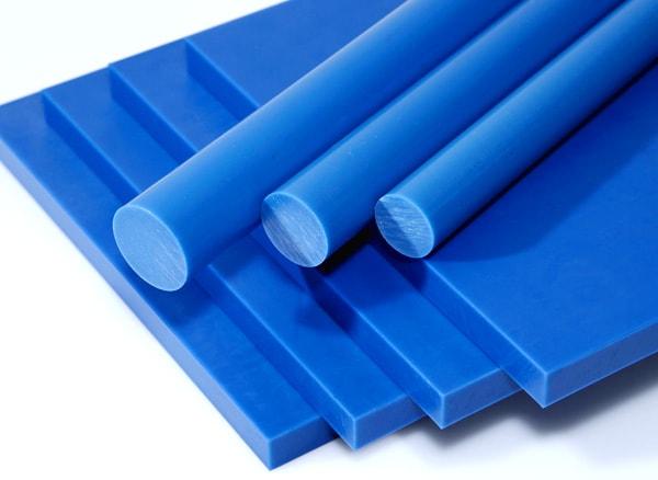 niebieski poliacetal, tecaform blue, niebieski ertacetal