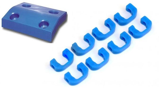 polietylen pe1000 niebieski tecafine niebieski