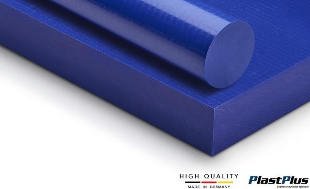 polietylen niebieski tecafine pe1000 pe500 pe300 wałki pręty tuleje rury płyty formatki niebieski polietylen