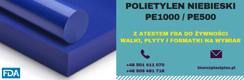 polietylen niebieskie, pe1000 niebieski, pe500 niebieski, pe300 niebieski, niebieski polietylen płyty wałki