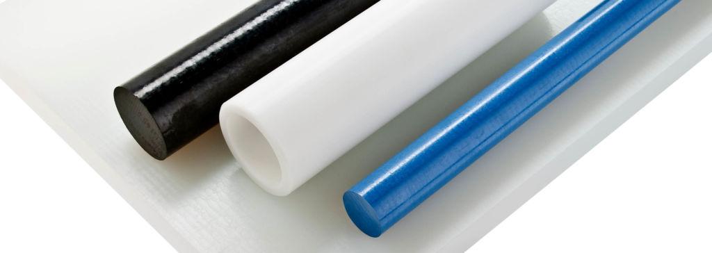 wałki poliacetal biały, wałki poliacetal niebieski, wałki poliacetal czarny