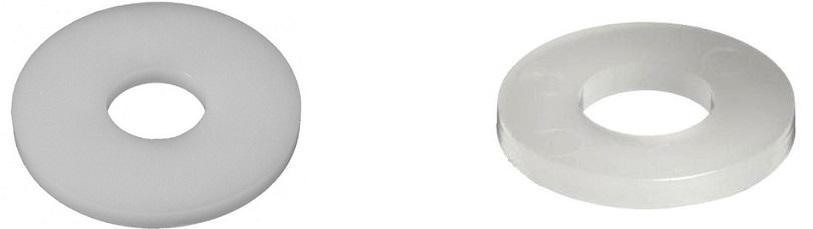 podkładki z teflonu ptfe teflonowe