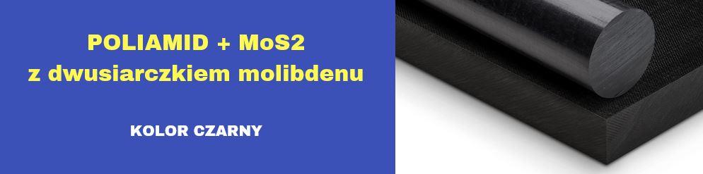 płyty poliamidowe z dwusiarczkiem molibdenu, płyty pa6 czarne