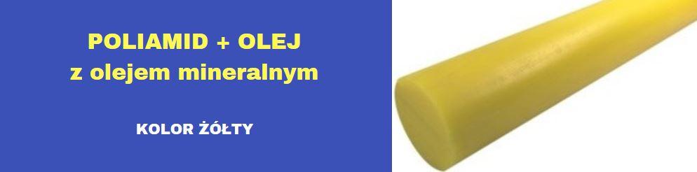 wałki poliamidowe żółte z olejem