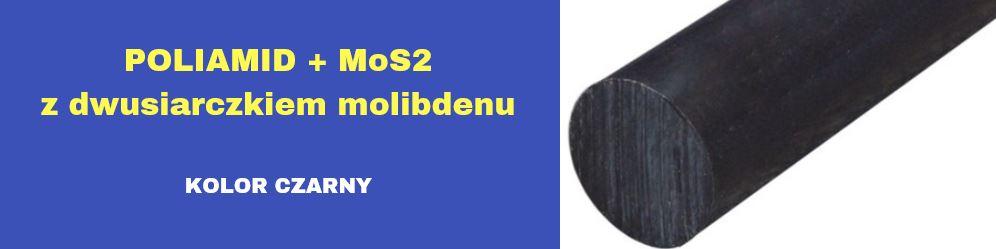 wałki poliamidowe czarne, wałki poliamid z dwusiarczkiem molibdenu, wałki pa6 mos2