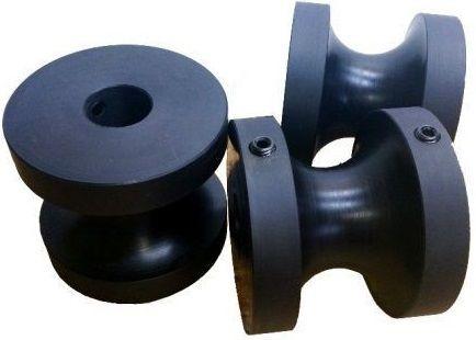 rolki do giętarki z poliamidu teflonu poliacetalu teflonu