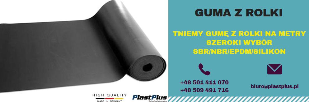 W Ultra Guma z rolki cięta na metry - gumy w rolkach - docinamy - PlastPlus.pl VA23