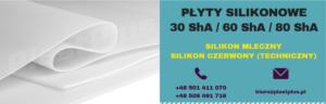 Płyty silikonowe