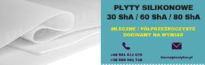 Płyty silikonowe mleczne