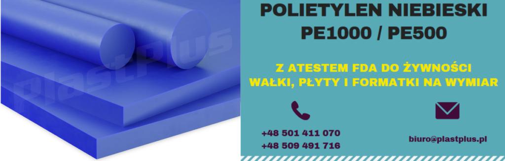 Polietylen niebieski